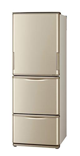 シャープ冷蔵庫どっちもドアタイプ 350Lタイプ N-ゴールド系色 SJ-W352C-N