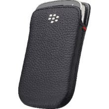 Research In Motion Blackberry 9900&9930 Bold用レザー・ポケットケース/ブラック 【並行輸入品】