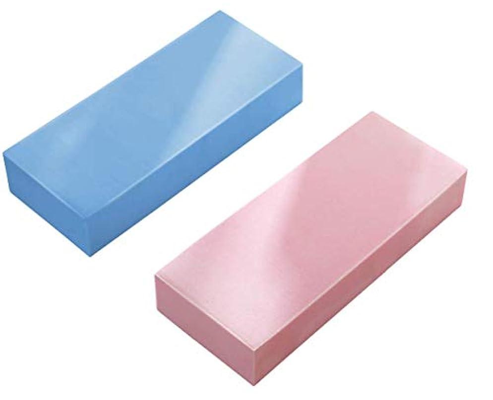 のみ一回つぶす[ユリカー] あかすりスポンジ 毛穴清潔 角質除去 やわらか シャワーブラシ 入浴用品 バス用品 海綿 お風呂用 男女兼用 2枚セット 3枚セット セット1