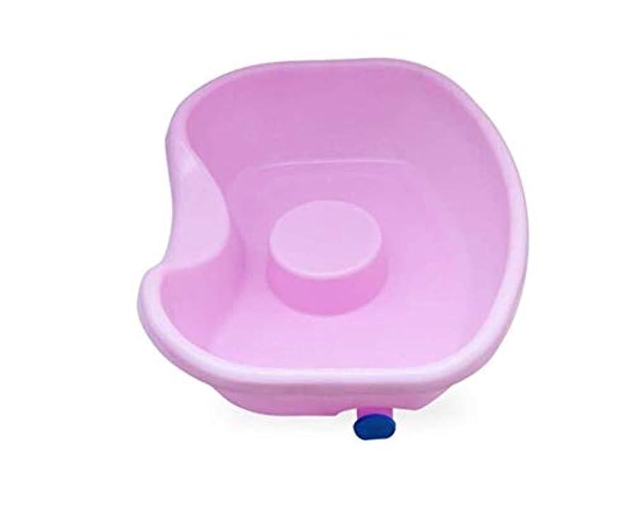 二層終点資源ベッドシャンプー盆地-障害者、妊娠中、および高齢者の寝たきりのためのベッドでの洗髪用ポータブルヘアウォッシュトレイ