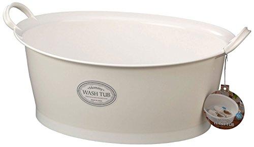 イノマタ化学 洗い桶 マミーウォッシュタブ 12L 底栓付き 約47.5×36cm 3113