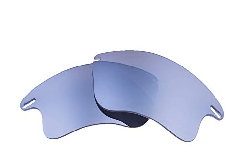062ef0f655672 LenzFlip Oakley Fast Jacket XL 交換レンズ 偏光 マルチオプション (Gray Polarized Flash  SILVER Mirror