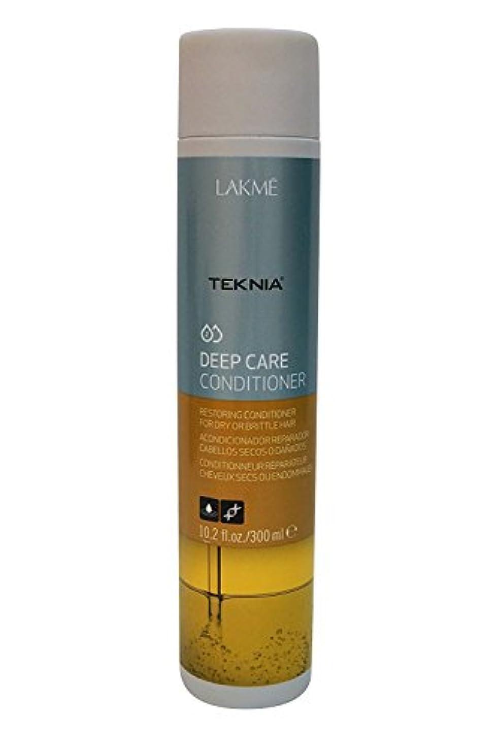 修正あいさつ腰Lakme Teknia Deep Care Conditioner 10.2 Oz by Lakme
