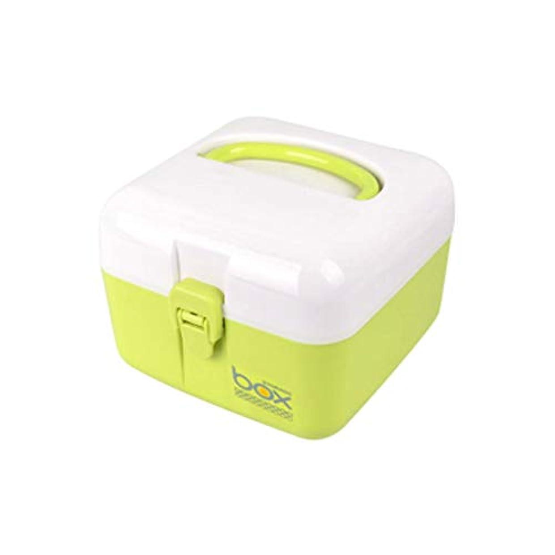 うまくやる()クラシカル満州薬箱小スクエア救急箱子供のかわいい寮共通薬収納ボックス HUXIUPING