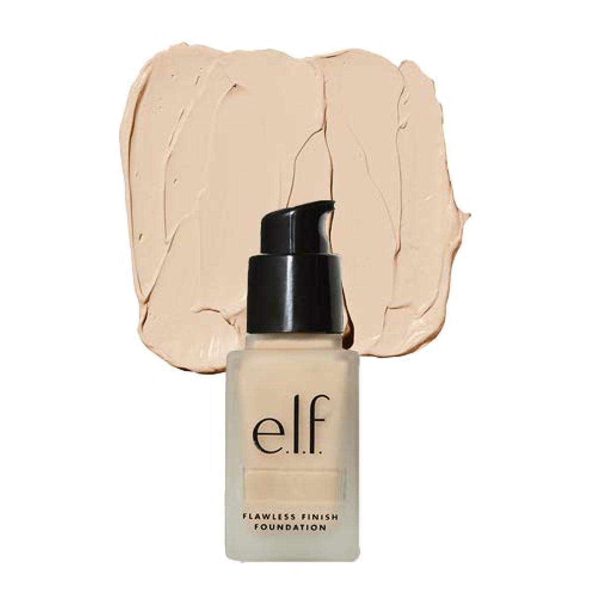 打ち上げる形成不平を言う(6 Pack) e.l.f. Oil Free Flawless Finish Foundation - Beige (並行輸入品)
