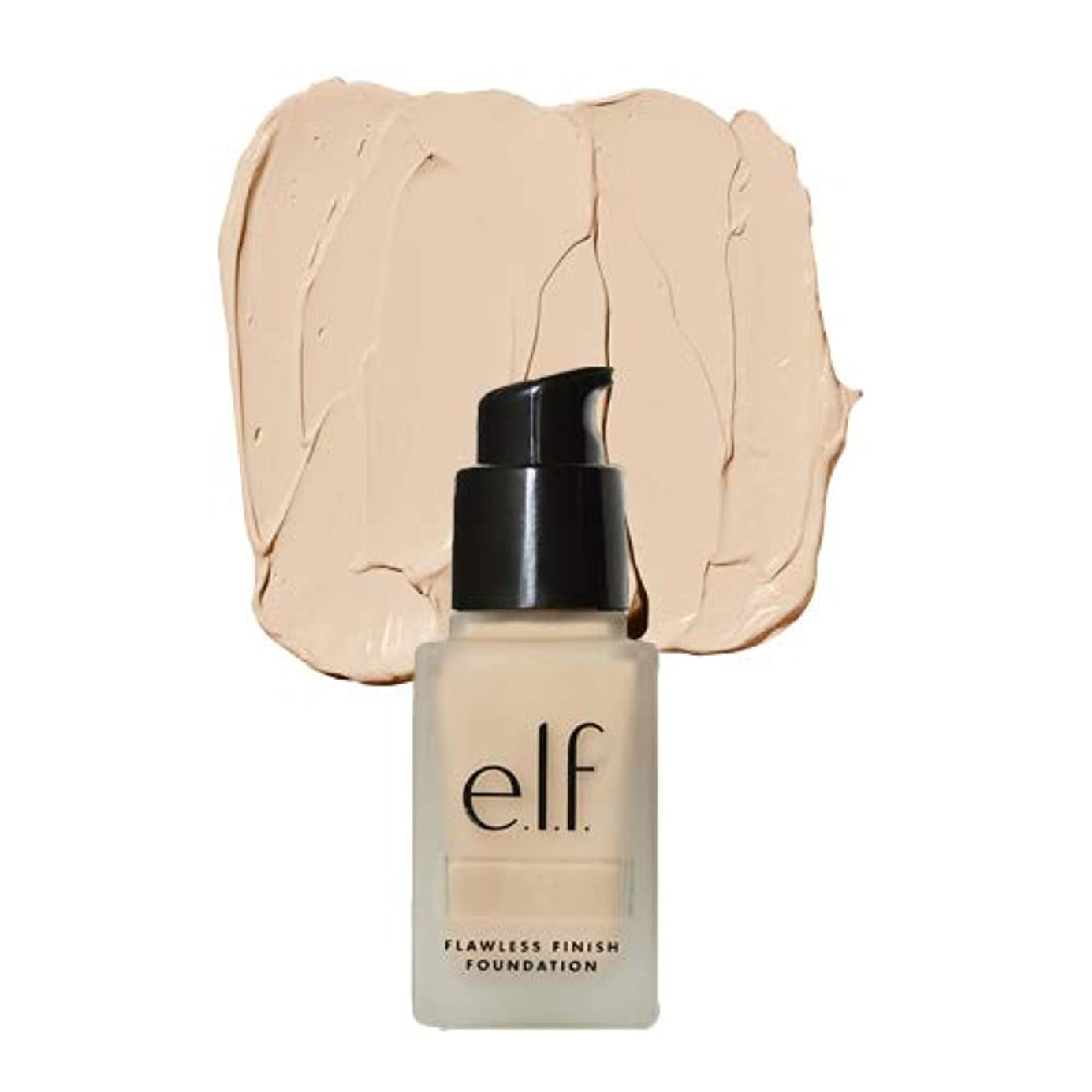 ふける娘コークス(3 Pack) e.l.f. Oil Free Flawless Finish Foundation - Beige (並行輸入品)