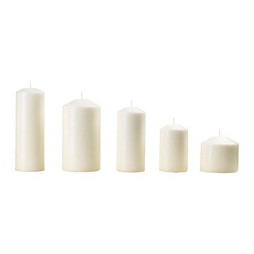 IKEA(イケア) FENOMEN 60143176 香りなしブロックキャン...