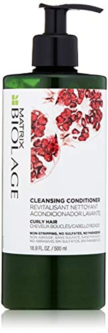 カバー喜ぶ計算可能by Matrix CLEANSING CONDITIONER FOR CURLY HAIR 16.9 OZ by BIOLAGE