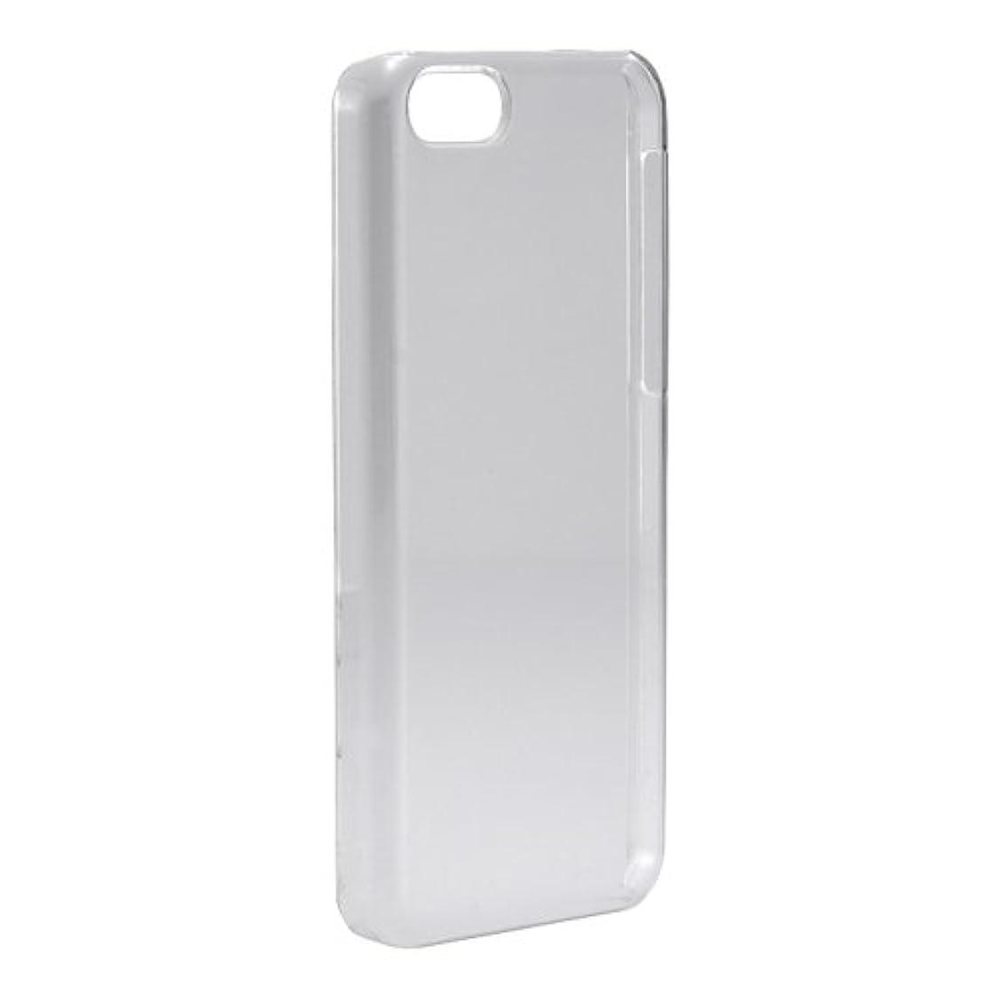 ビリーヤギビジター敬礼iBUFFALO iPhone5C用 3Hハードケース 液晶保護フィルム付 クリア BSIP13CPCHCR