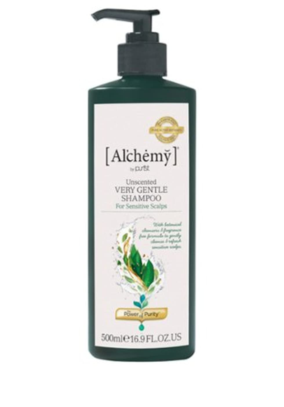 【Al'chemy(alchemy)】アルケミー ベリージェントルシャンプー(Unscented Very Gentle Shampoo)(敏感肌用)500ml