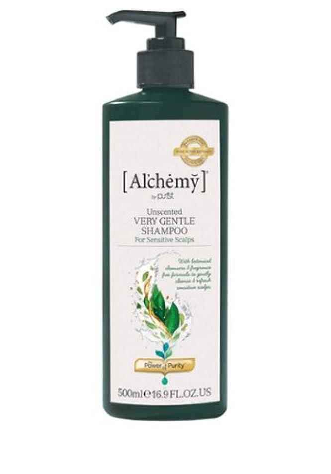 弱点でただ【Al'chemy(alchemy)】アルケミー ベリージェントルシャンプー(Unscented Very Gentle Shampoo)(敏感肌用)500ml