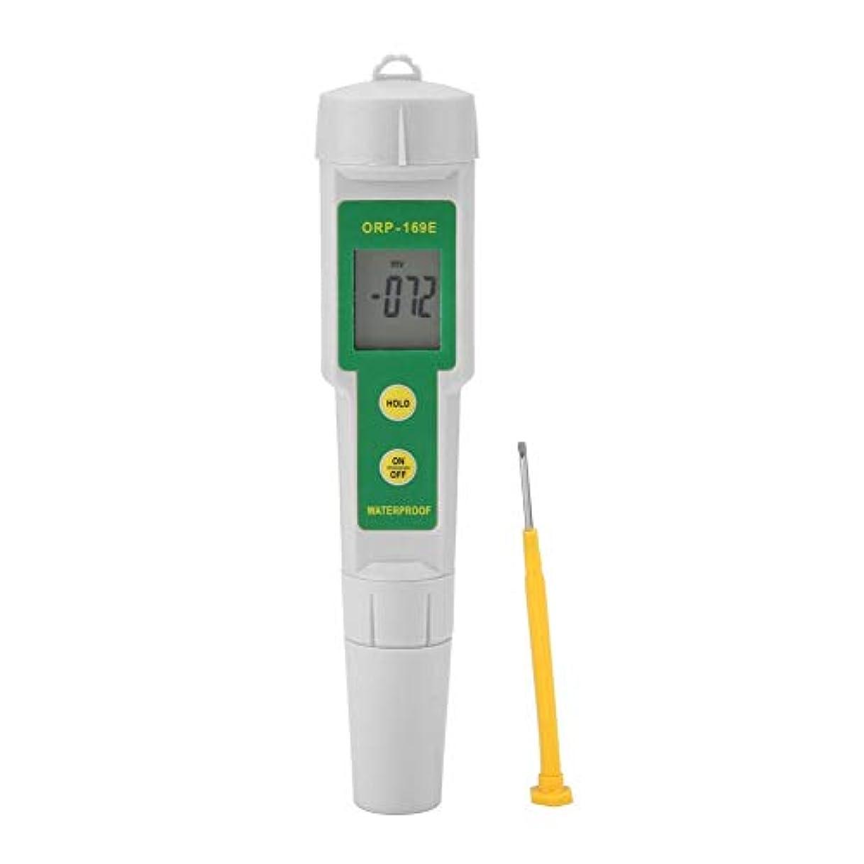 名誉強調ストラップデジタルORPメーター、ORP-169ポータブル水質モニターデジタルORPテスターペン取り外し可能な水ORPメーター