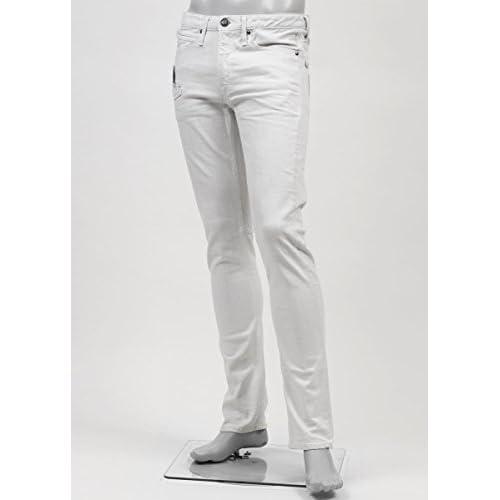 (ジミー タヴァニティ) JIMMY TAVERNITI ストレッチジーンズ 29サイズ BLACKIE TIGHT FIT/REGULAR RISE/NARROW LEG オフホワイト [並行輸入品]