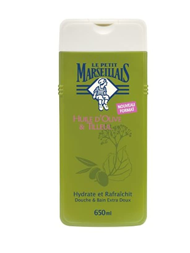 男やもめ嵐の以下「オリーブの葉」と「シナノキ」シャワージェル フランスの「ル?プティ?マルセイユ(Le Petit Marseillais)」 650 ml ボディウォッシュ