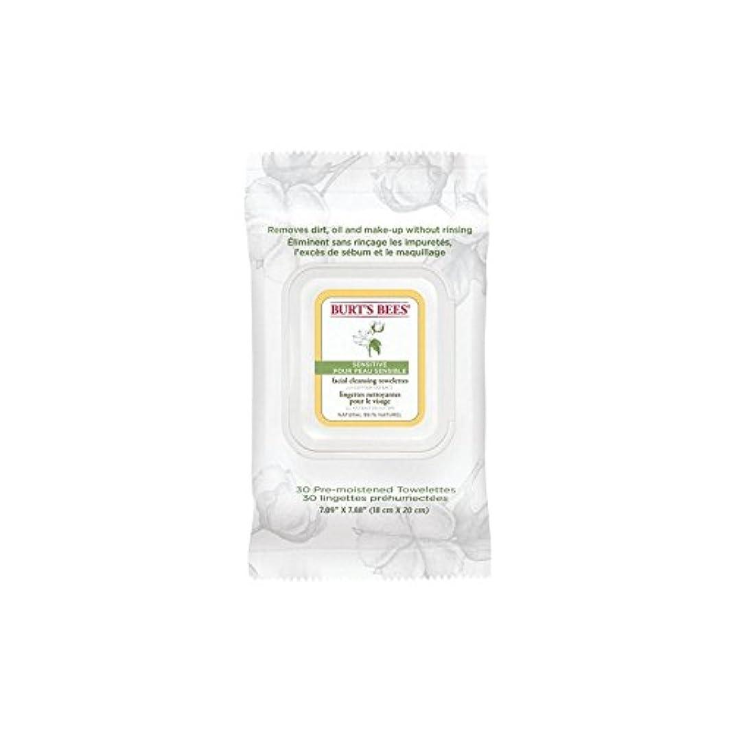 二次定数プロジェクターBurt's Bees Sensitive Facial Wipe (Pack of 6) - ワイプ、顔バーツビー敏感 x6 [並行輸入品]