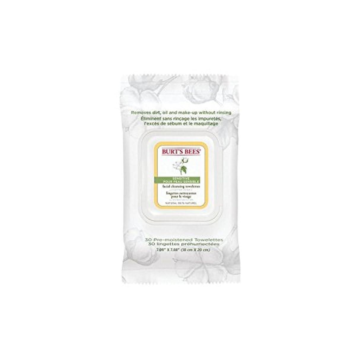 農民不規則なフェッチBurt's Bees Sensitive Facial Wipe (Pack of 6) - ワイプ、顔バーツビー敏感 x6 [並行輸入品]