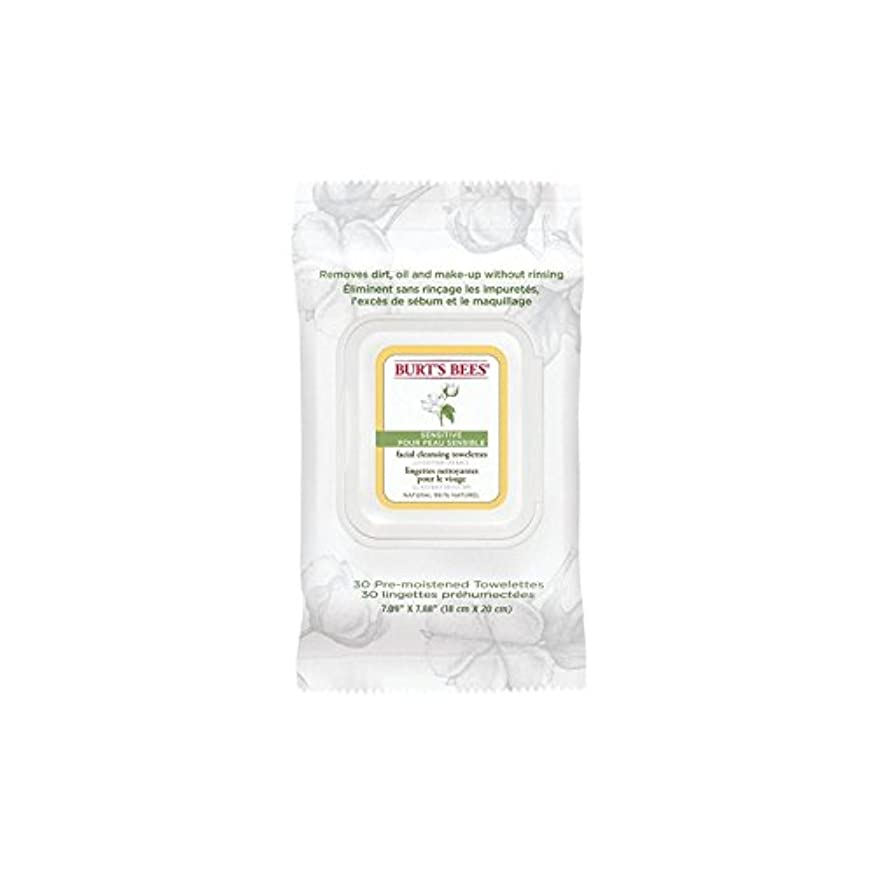 レンズ関与する検出するBurt's Bees Sensitive Facial Wipe (Pack of 6) - ワイプ、顔バーツビー敏感 x6 [並行輸入品]