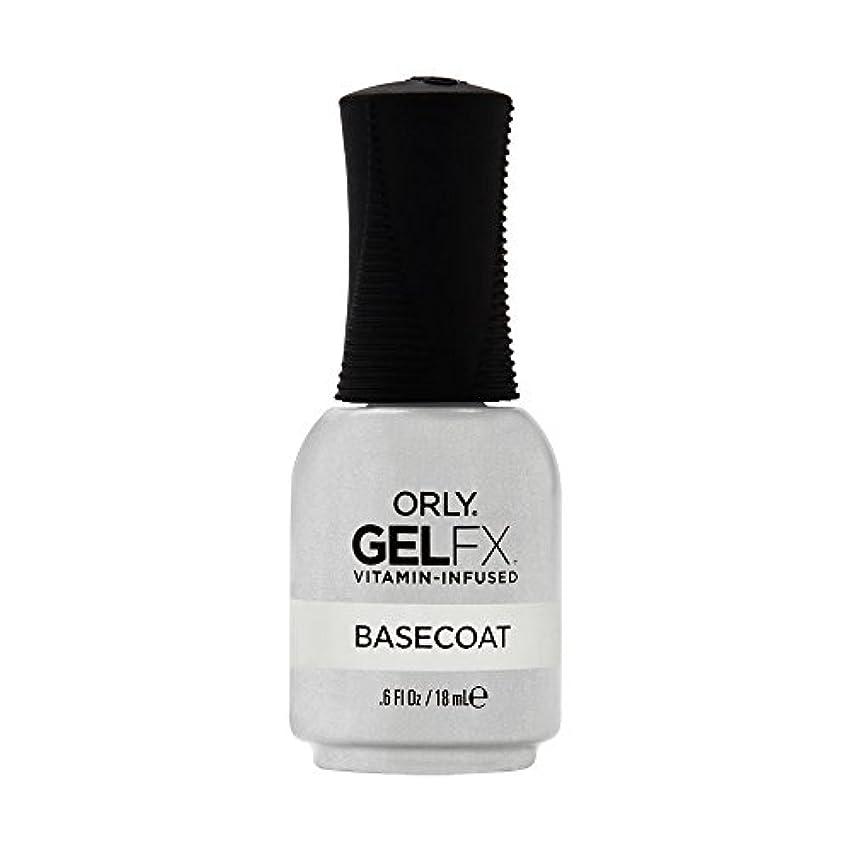 インシュレータ本能旋律的Orly Gel FX - Base Coat - 0.6 oz / 18 mL