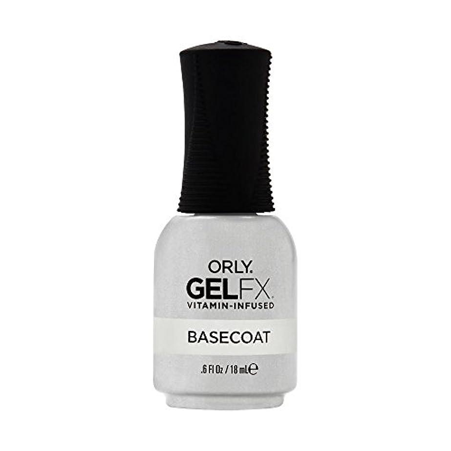 本質的に渇き代理人Orly Gel FX - Base Coat - 0.6 oz / 18 mL