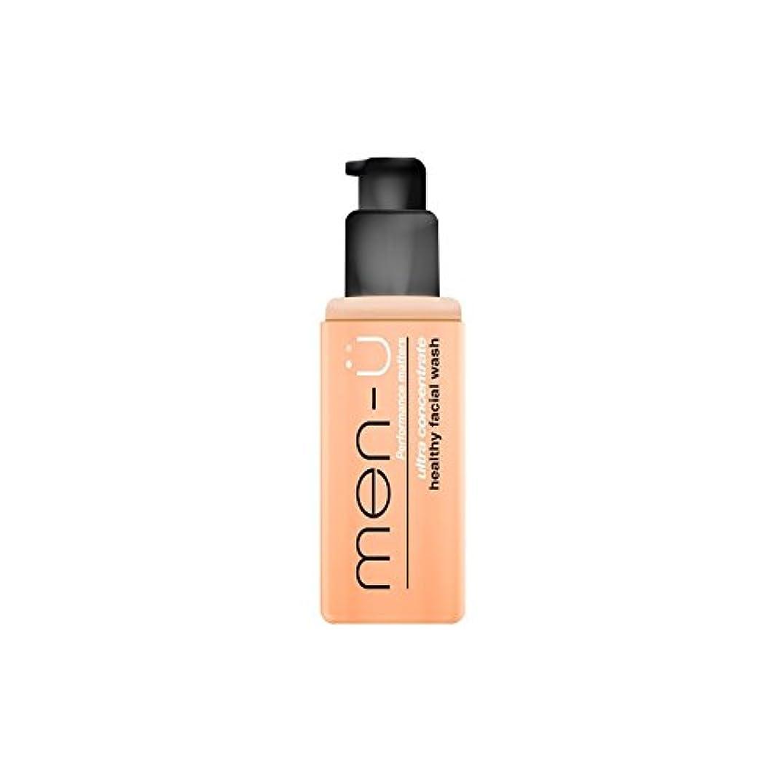 男性-?健康洗顔料(100ミリリットル) x4 - Men-? Healthy Facial Wash (100ml) (Pack of 4) [並行輸入品]