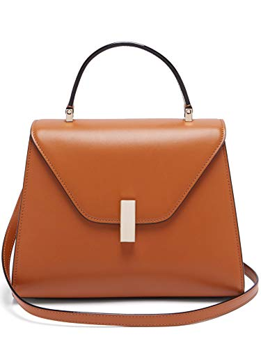 (ヴァレクストラ) VALEXTRA Women`s Isis medium leather bag レディース バッグ ショルダーバッグ (並行輸入品)