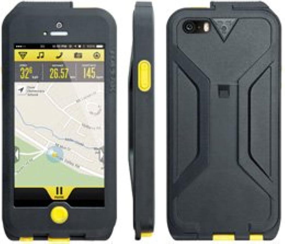 プロフェッショナル仲介者アクチュエータBAG30101 TOPEAK ウェザープルーフ ライドケース単体 iPhone5/5S用 イエロー