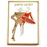 限定 レア ピンバッジ ピエールカルダン洋服ブランド赤いドレス女の子スーツ男の子モデル達 ピンズ フラン