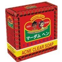 Madame Heng Acne Clear Soap Teenage & Adult Anti-pimples Blemish Scar Made in Thailand by Madame Heng [並行輸入品]
