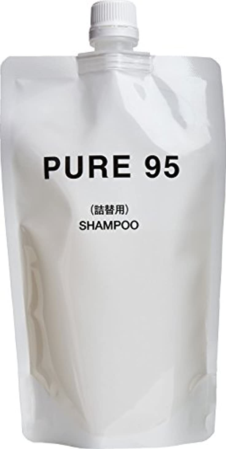 流行酸っぱいサーカスパーミングジャパン PURE95 シャンプー 360ml レフィル (400ml ボトル用 詰め替え)