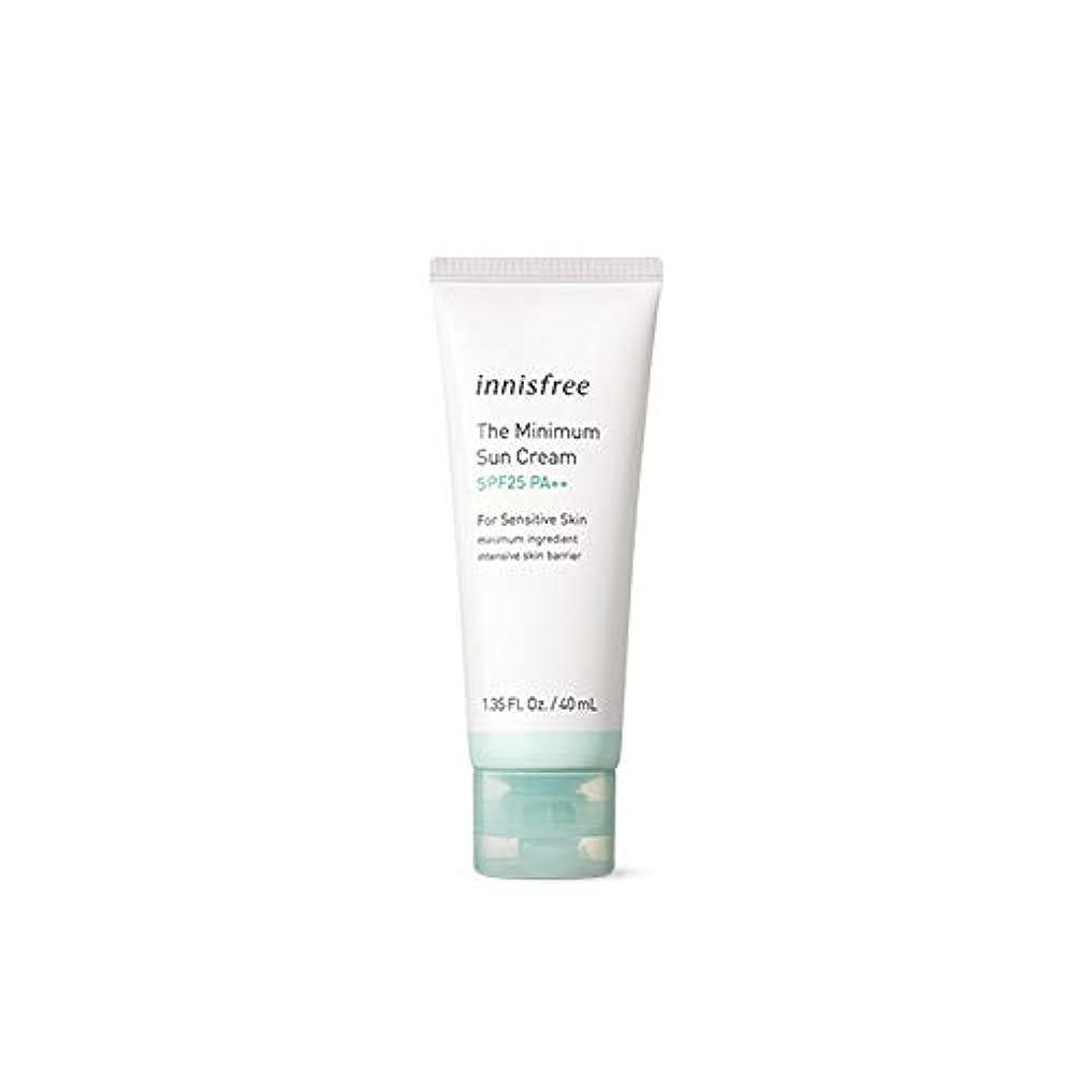 バーゲン期限アプローチ[イニスフリー] Innisfree ザ·ミニマムサンクリーム(SPF25PA ++ 40ml) Innisfree The Minimum Sun Cream (SPF25PA++40ml)  [海外直送品]