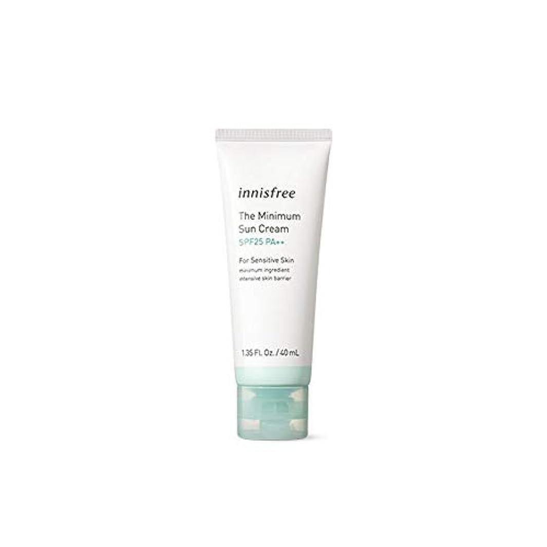 スクワイア難破船しないでください[イニスフリー] Innisfree ザ·ミニマムサンクリーム(SPF25PA ++ 40ml) Innisfree The Minimum Sun Cream (SPF25PA++40ml)  [海外直送品]