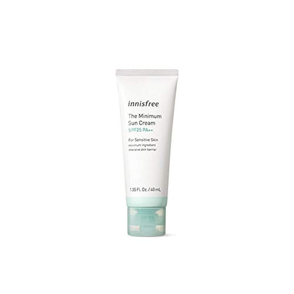 再生可能アラーム流暢[イニスフリー] Innisfree ザ·ミニマムサンクリーム(SPF25PA ++ 40ml) Innisfree The Minimum Sun Cream (SPF25PA++40ml)  [海外直送品]
