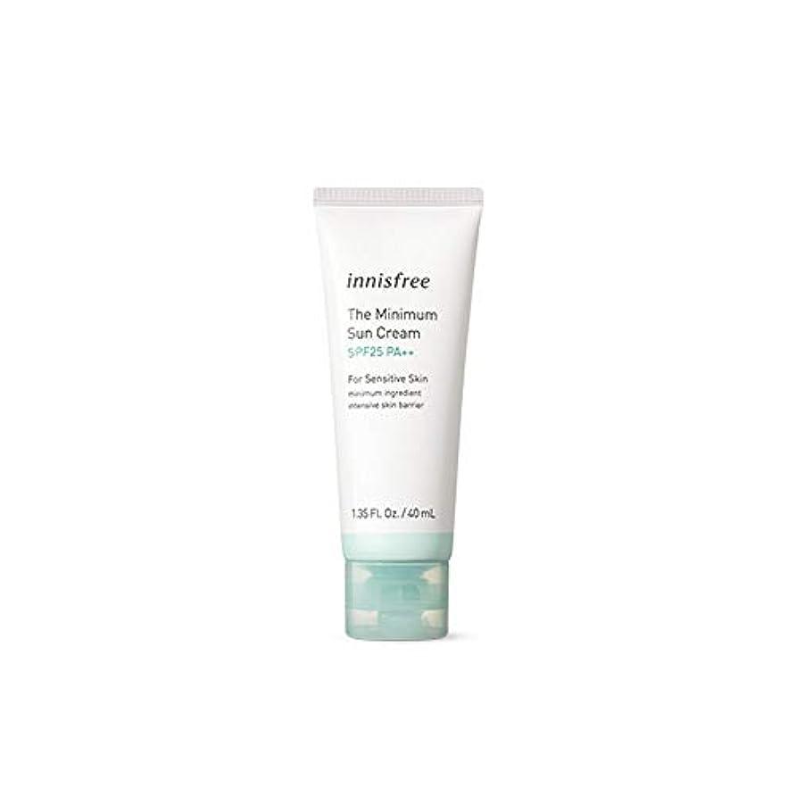 フィットネス癒す哲学的[イニスフリー] Innisfree ザ·ミニマムサンクリーム(SPF25PA ++ 40ml) Innisfree The Minimum Sun Cream (SPF25PA++40ml)  [海外直送品]