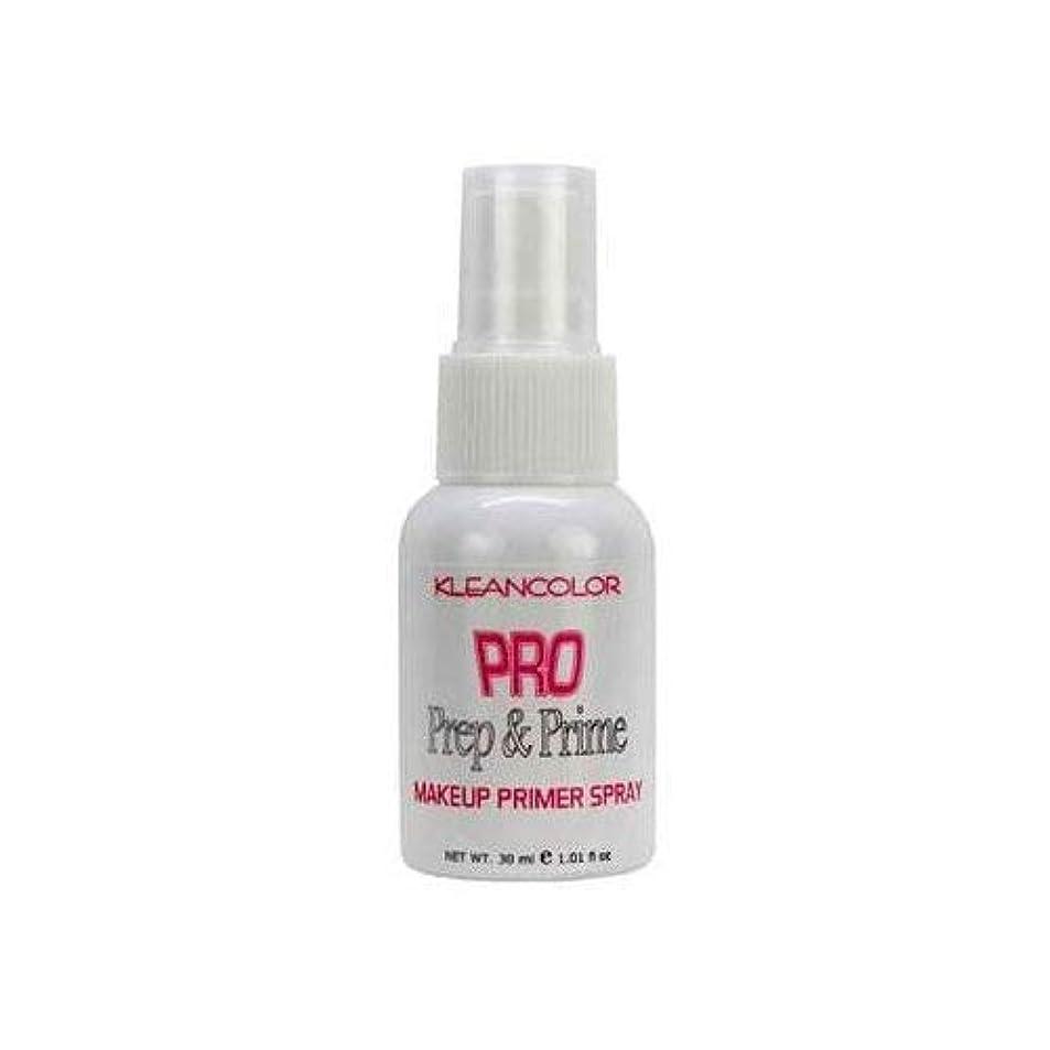 バスネブインチ(3 Pack) KLEANCOLOR Pro Prep and Prime - Makeup Primer Spray (並行輸入品)
