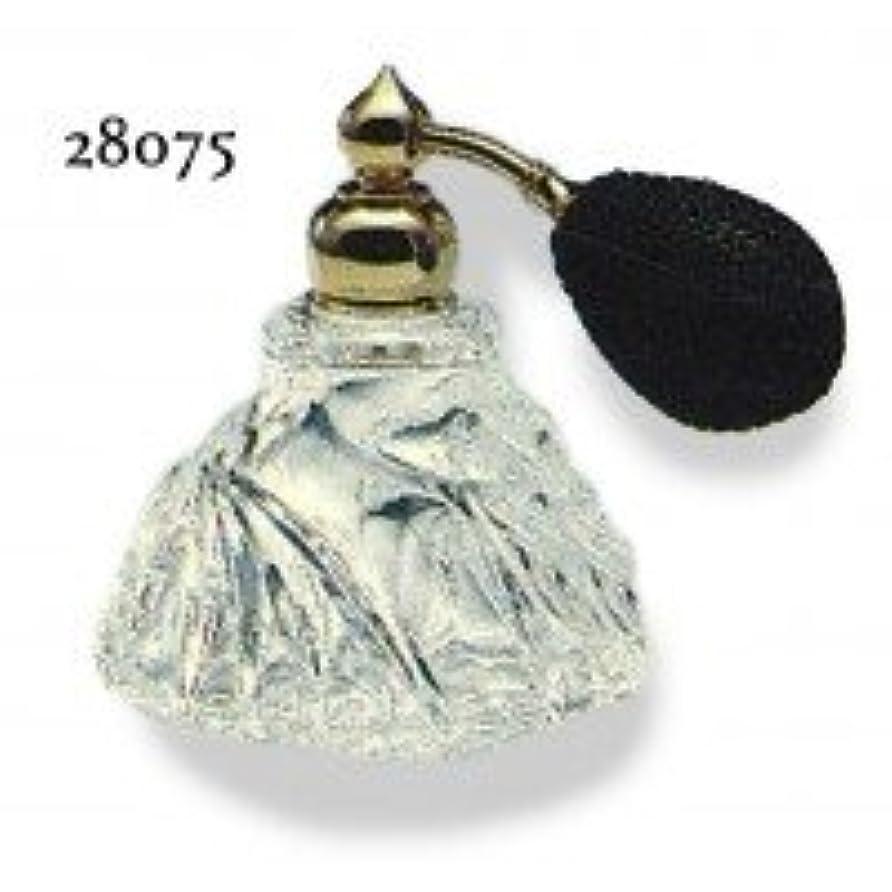 ブラウン多様なスリップドイツ製クリスタル香水瓶リードクリスタル 長