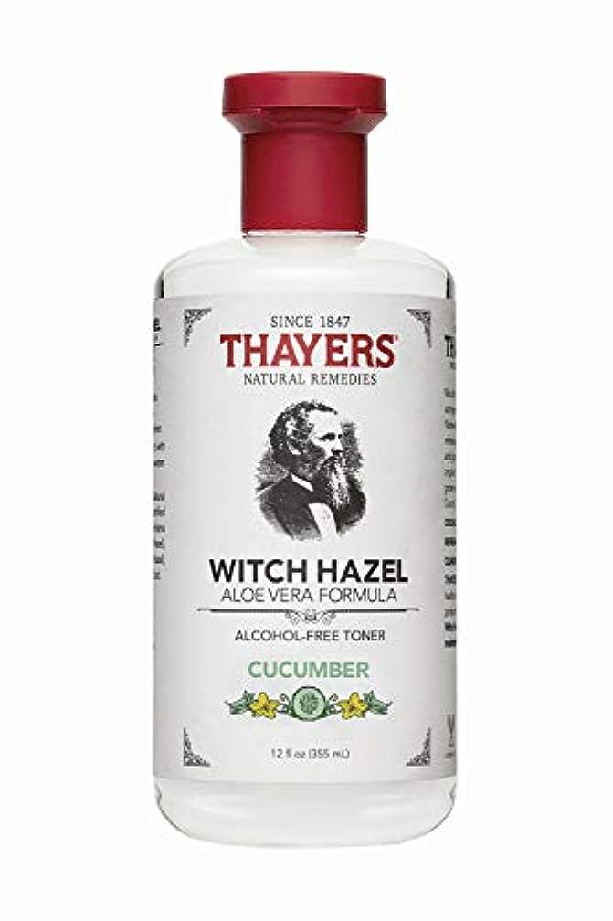 おびえた予定フレッシュThayers? Cucumber Witch Hazel Astringent with Organic Aloe Vera 355ml