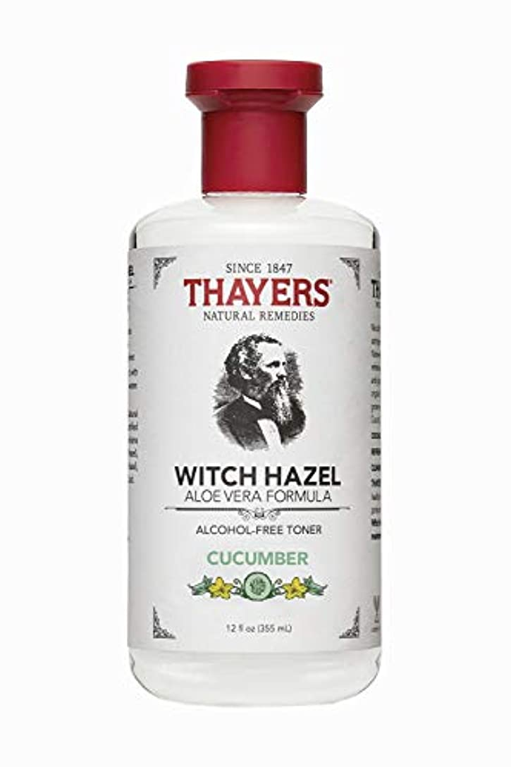 会員乱す令状Thayers? Cucumber Witch Hazel Astringent with Organic Aloe Vera 355ml