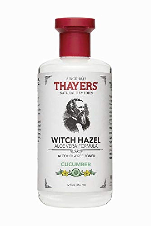 悪性腫瘍親指背の高いThayers? Cucumber Witch Hazel Astringent with Organic Aloe Vera 355ml