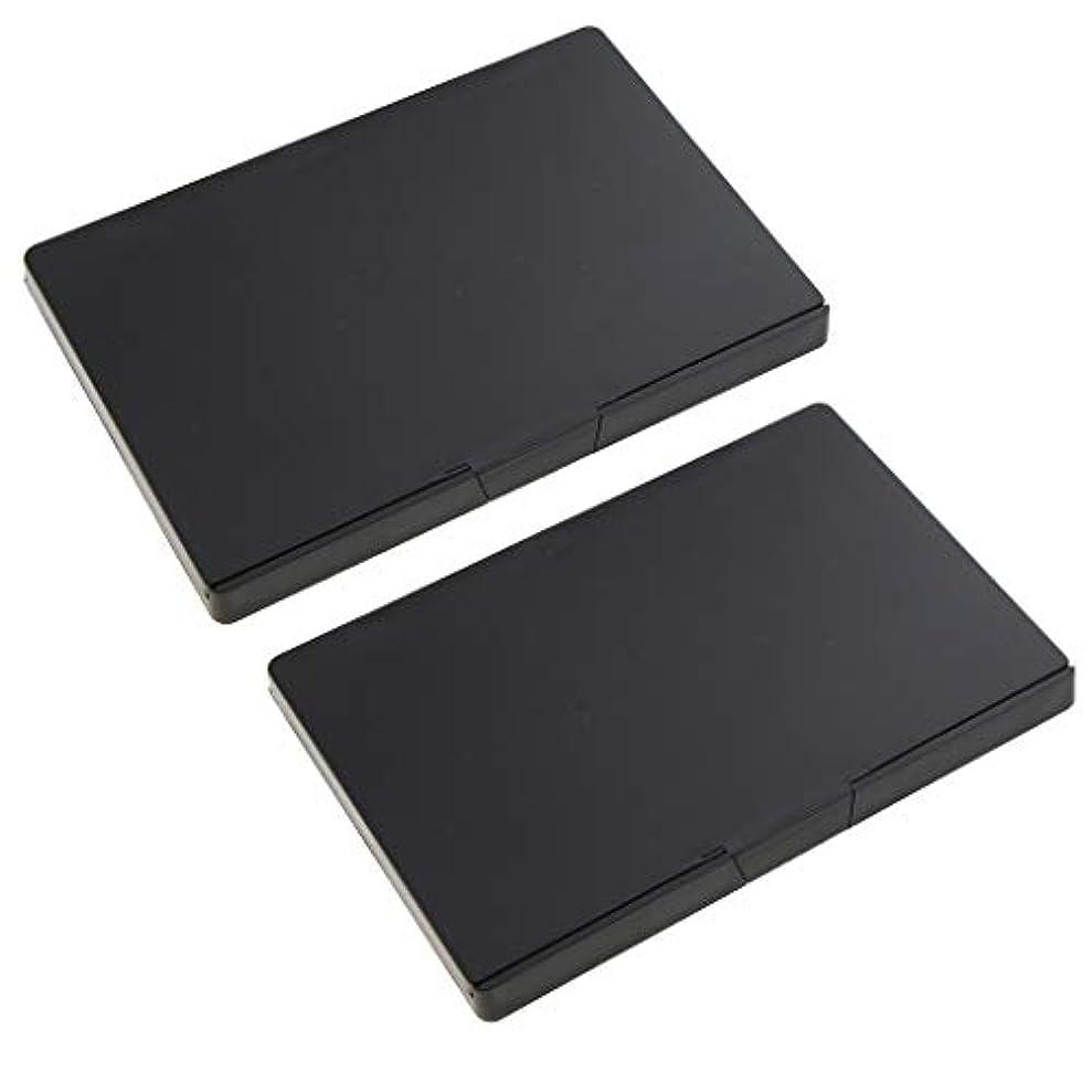 シーン特徴受益者2個 磁気パレットボックス 空パレット アイシャドー パウダー メイクアップケース
