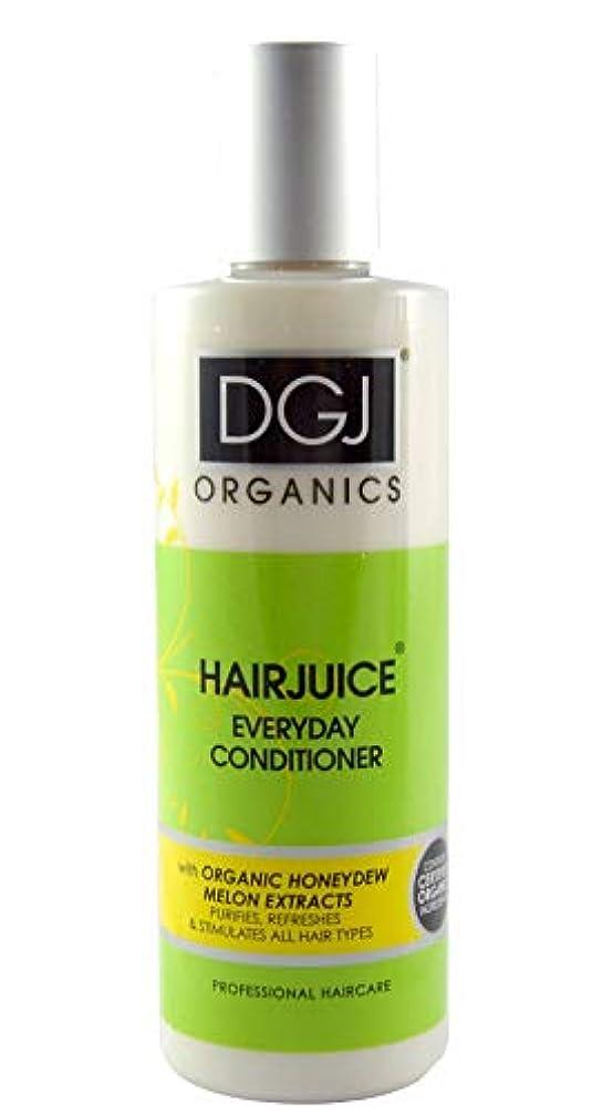 すり減るリア王殺人者DGJ Organics Honeydew Melon Hair Juice Conditioner