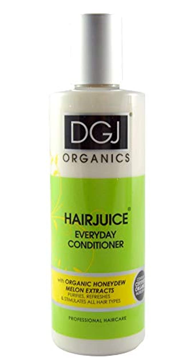 夕食を作る無実伝統DGJ Organics Honeydew Melon Hair Juice Conditioner