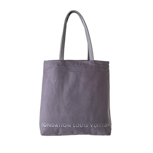 ルイヴィトン財団  美術館  限定  FONDATION LOUIS VUITTON トートバッグ バッグ  グレー 並行輸入品