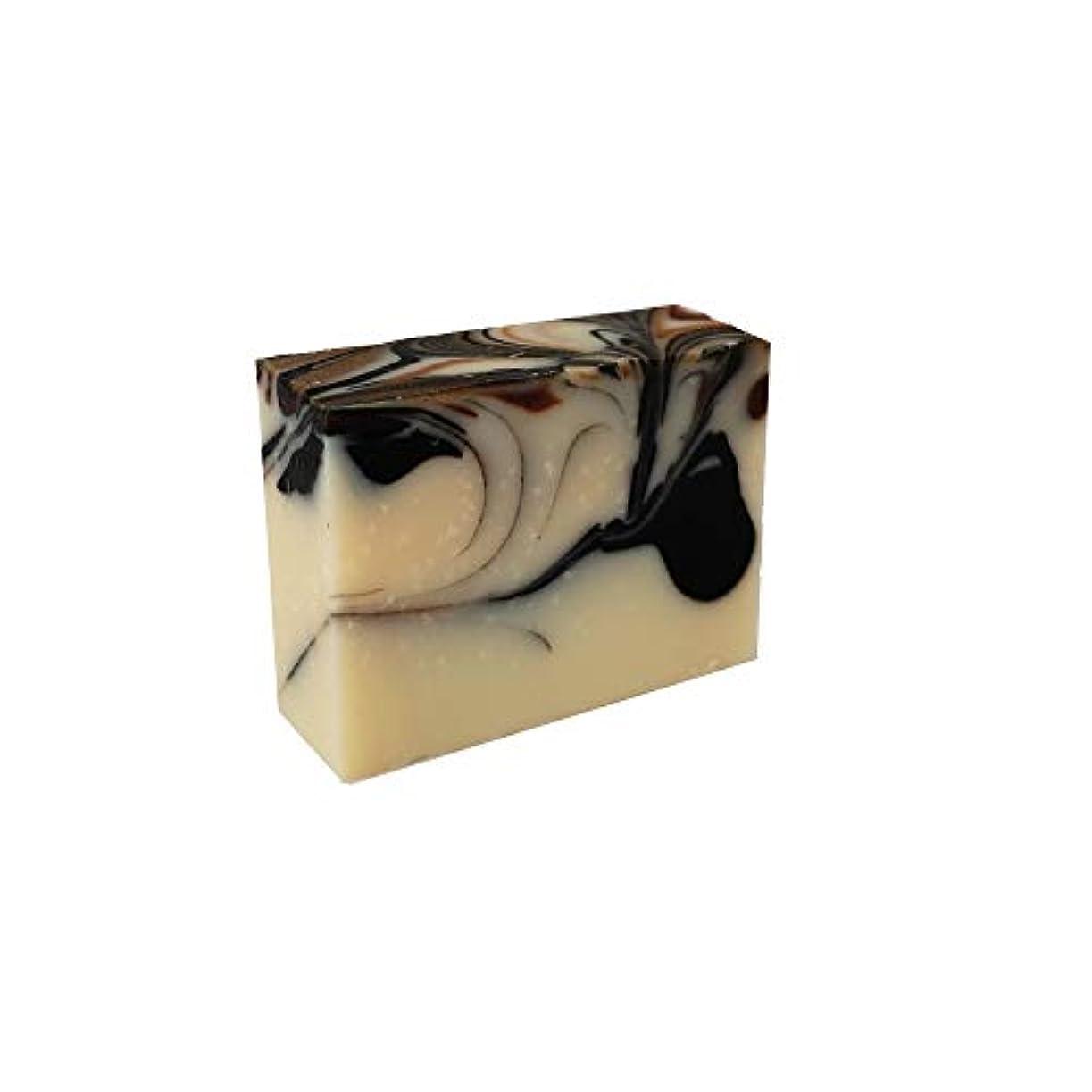 バズバルブジョットディボンドン石けん工房花華の黒の極み石けん コールドプロセス製法 80g
