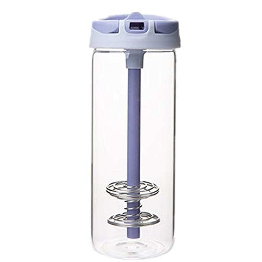 温度計民主党宙返り耐熱 ガラス ボトル ボトル ストロー付け 水筒 おしゃれ シェーカーボトル プロテイン 青汁 650ml 大容量 携帯 ウォーター ボトル