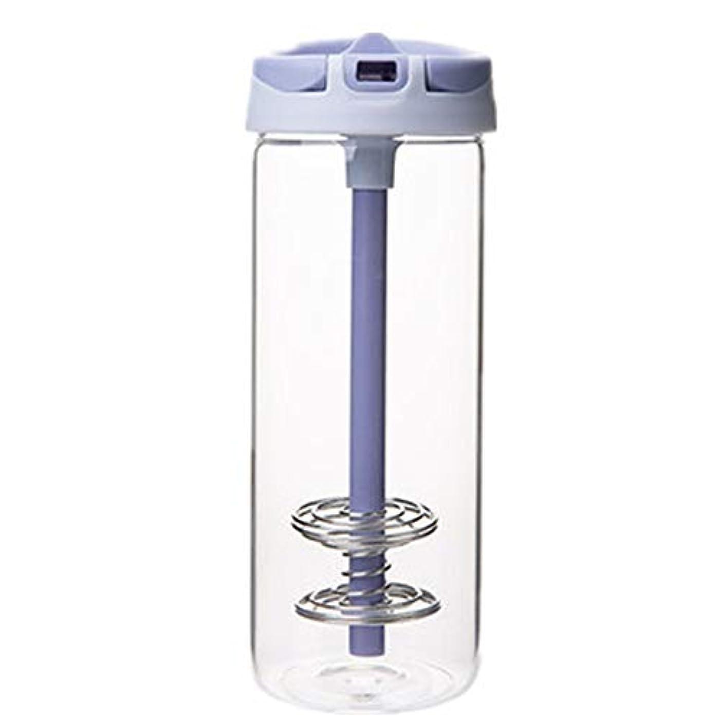 中性キャリア改修耐熱 ガラス ボトル ボトル ストロー付け 水筒 おしゃれ シェーカーボトル プロテイン 青汁 650ml 大容量 携帯 ウォーター ボトル