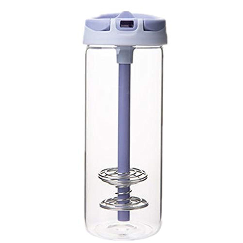 けん引病褒賞耐熱 ガラス ボトル ボトル ストロー付け 水筒 おしゃれ シェーカーボトル プロテイン 青汁 650ml 大容量 携帯 ウォーター ボトル