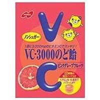 ノーベル製菓 VC-3000のど飴 ピンクグレープフルーツ 90g×6袋入×(2ケース)