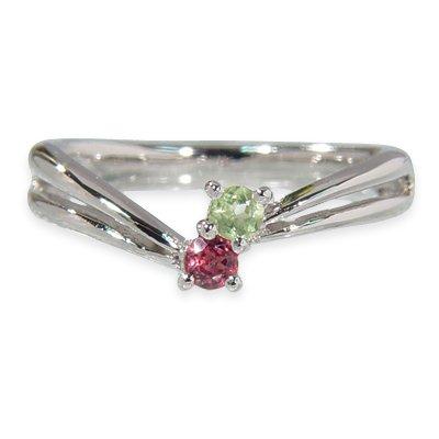 [해외]umu-ring 페리도트 로돌 라이트 가넷 반지 SV925 핑키 링 대응 각인 무료/umu-ring Peridot Roadlight Garnet Ring SV925 Pinkey Ring Compatible · Engraved Free