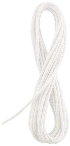 Clover 丸ゴム 3本 太さ約2mm 3.5m巻 白 26-021
