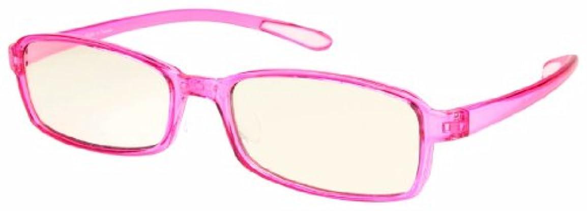 エニックス 老眼鏡 ブルーライトカット +1.5 度数 スウィートアイ ピンク ローズ SE01ROSE1.00